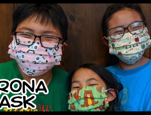 Homemade Face Masks for Conoravirus