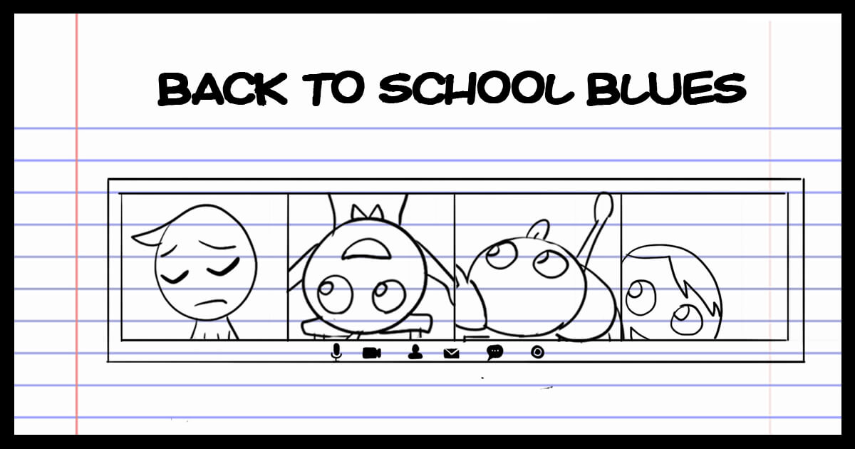 Back to School Blues Title