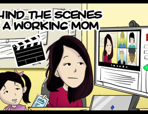 Behind the Scenes of a Working Mom